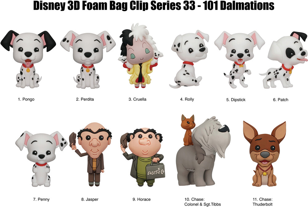 - Disney 101 Dalmatians (Single Blind Bag) (Key)