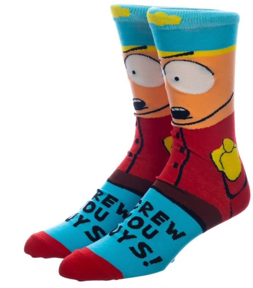 - South Park Cartman Crew Socks 8-12 (Mult) (Sock)