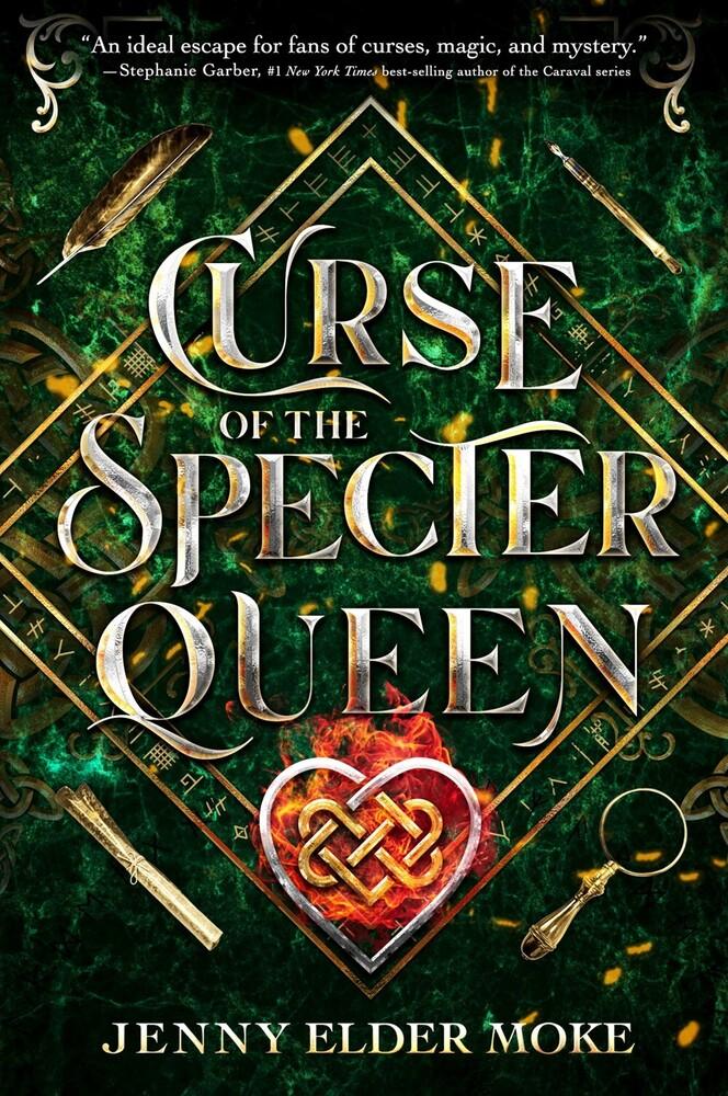 Jenny Moke - Curse Of The Specter Queen (Hcvr) (Ser)