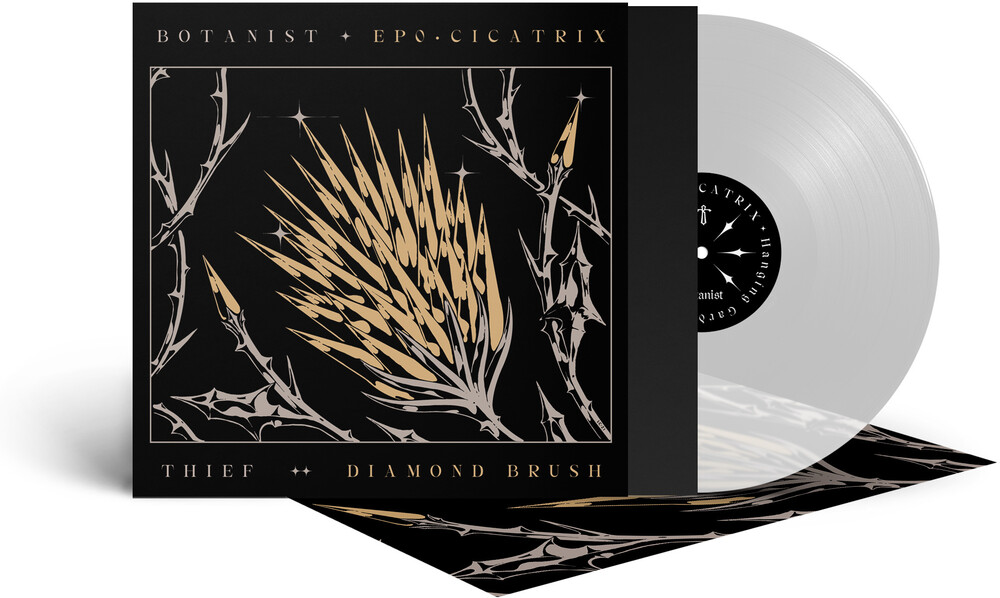Botanist / Thief - Cicatrix / Diamond Brush (Clear Vinyl) [Colored Vinyl]