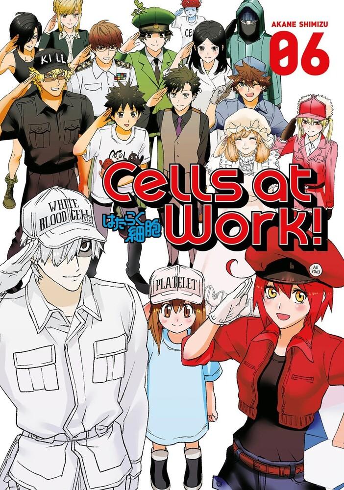 Akane Shimizu - Cells At Work 6 (Gnov) (Ppbk)