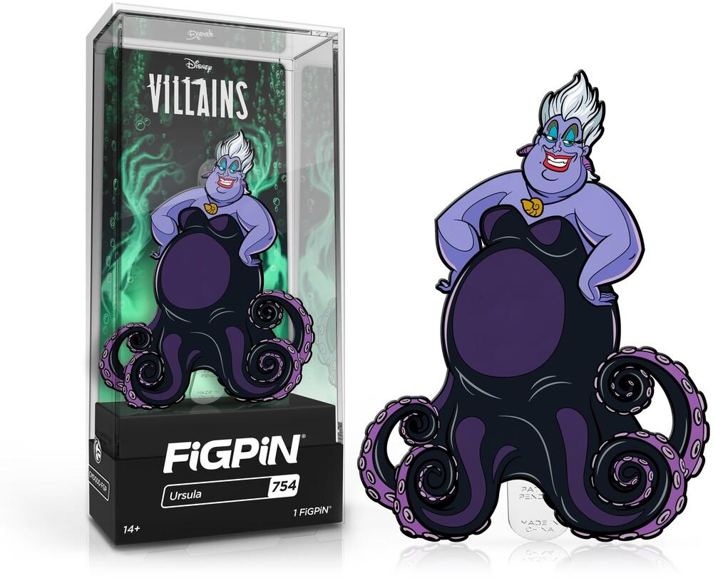Figpin Disney Villains Ursula #754 - Figpin Disney Villains Ursula #754 (Clcb) (Pin)