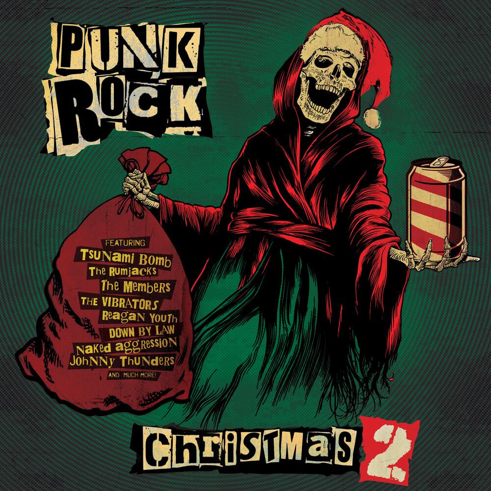 Punk Rock Christmas 2 / Various (Colv) (Grn) (Ltd) - Punk Rock Christmas 2 / Various [Colored Vinyl] (Grn) [Limited Edition]