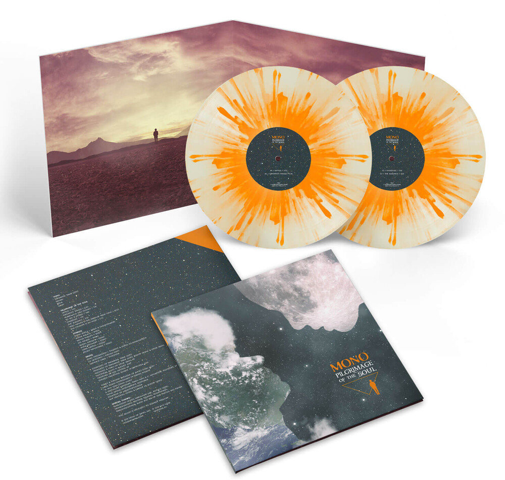Mono - Pilgrimage of the Soul (Limited Edition) (Opaque White with Orange Splatter)