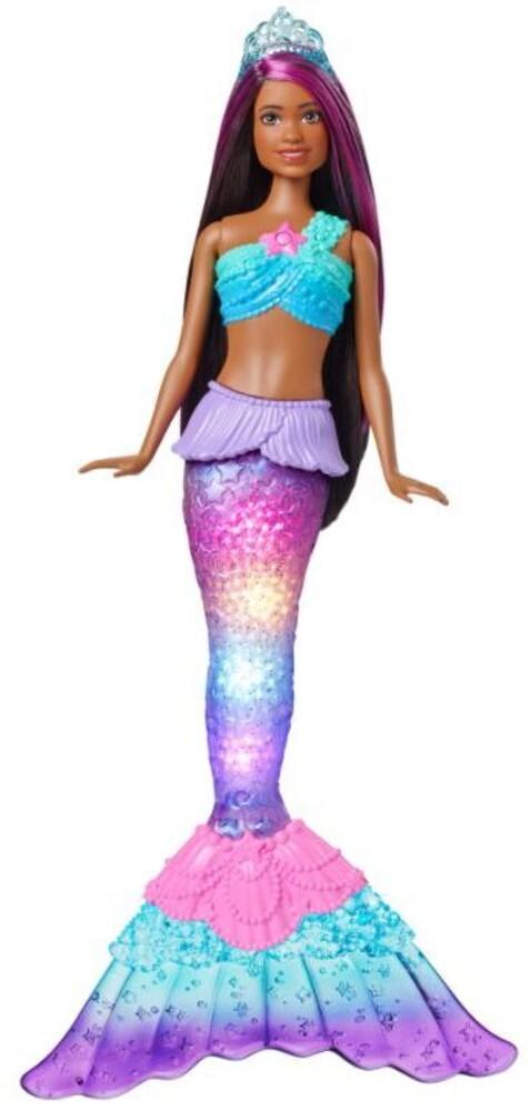 Barbie - Barbie Fairytale Light Up Mermaid 2 (Papd)