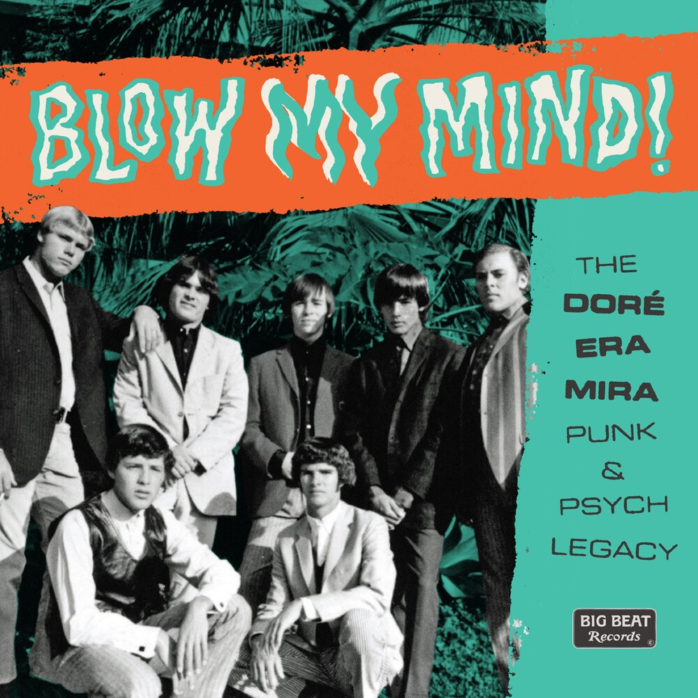 Blow My Mind: Dore-Era-Mira Punk & Psych Legacy - Blow My Mind! The Dore-Era-Mira Punk & Psych Legacy / Various