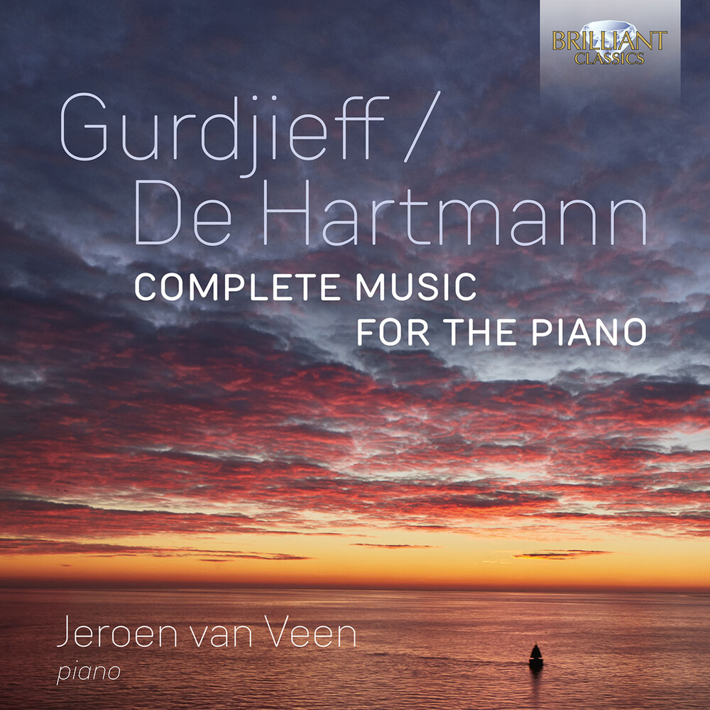 Gurdjieff / Veen - Complete Music For The Piano (Box)