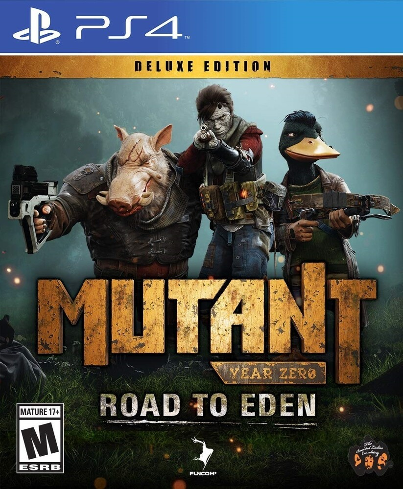 - Mutant Year Zero: Road to Eden Deluxe Edition for PlayStation 4