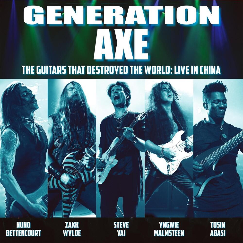 Vai / Wylde / Malmsteen / Bettencourt / Abasi - Generation Axe: Guitars That Destroyed That World