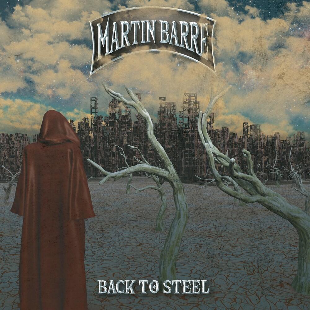 Martin Barre - Back To Steel (Bonus Tracks) [Clear Vinyl] [Limited Edition] [Reissue]