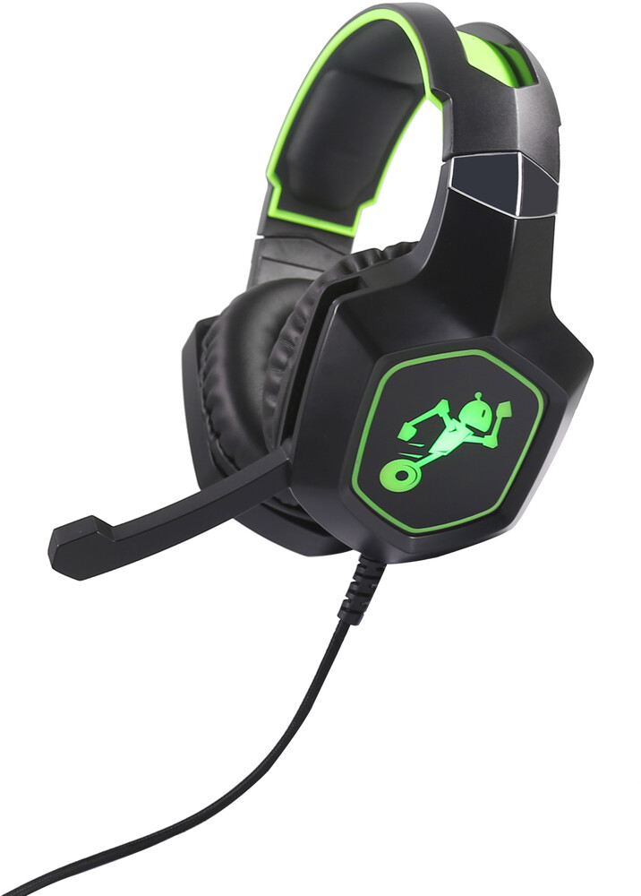Teknmotion Tmxyb1Gn Yapster Xbox1 Surround Sound - TekNMOTION TMXYB1GN Yapster XBOX1 Surround Sound Headset BLK