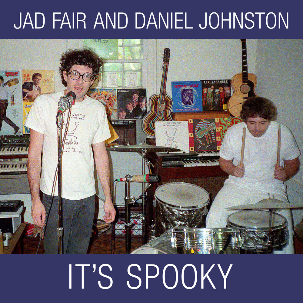 Jad Fair / Johnston,Daniel - It's Spooky (Reissue) (Color Vinyl) (Wht)