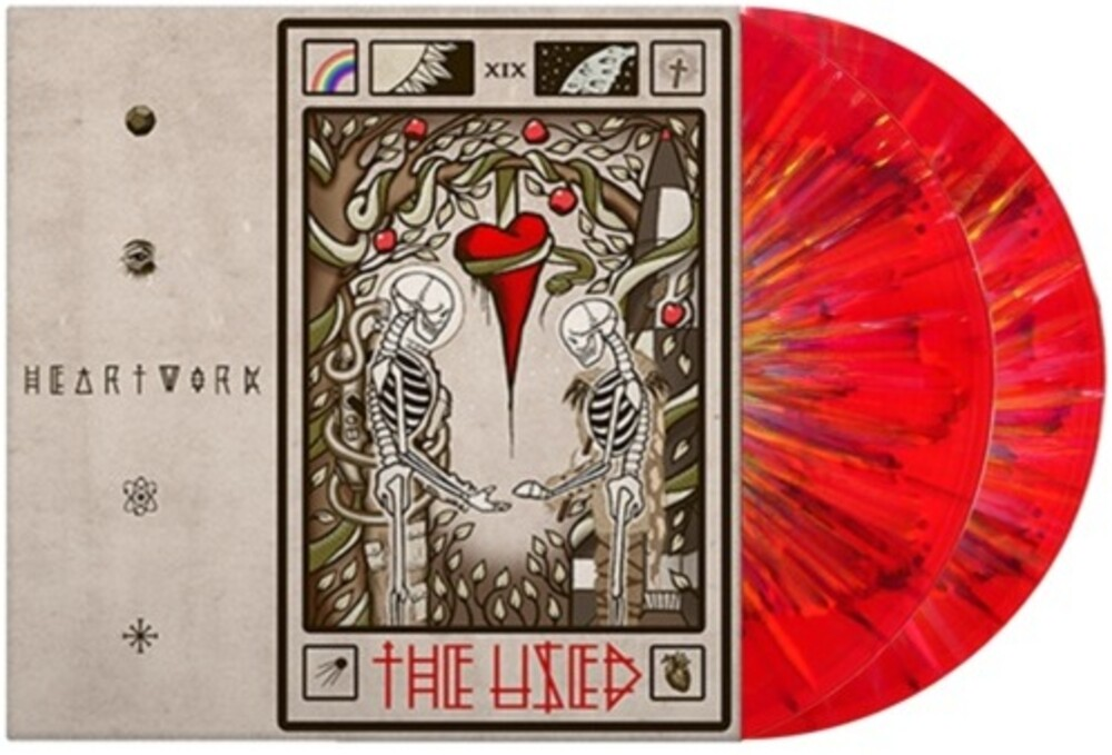 The Used - Heartwork [Translucent Red w/ Rainbow Splatter 2LP]