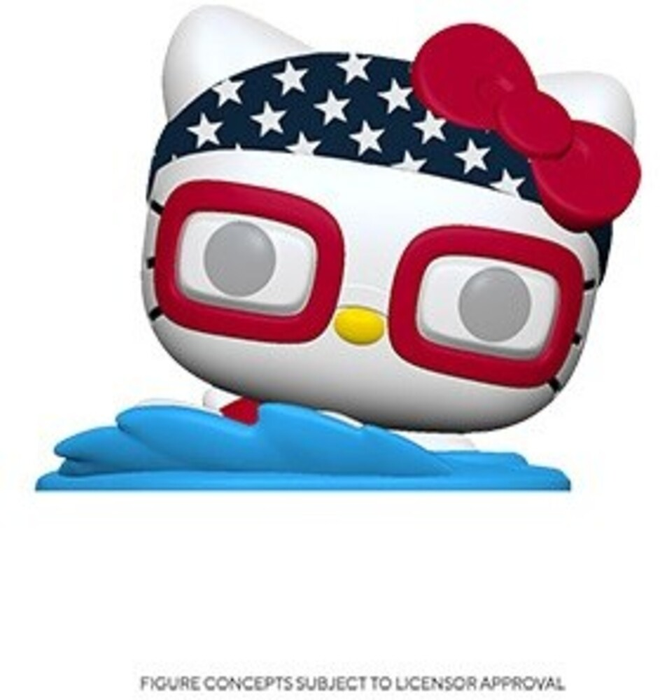Funko Pop! Sanrio: - FUNKO POP! SANRIO: Hello Kitty Sports Team USA - Swimming Hello Kitty