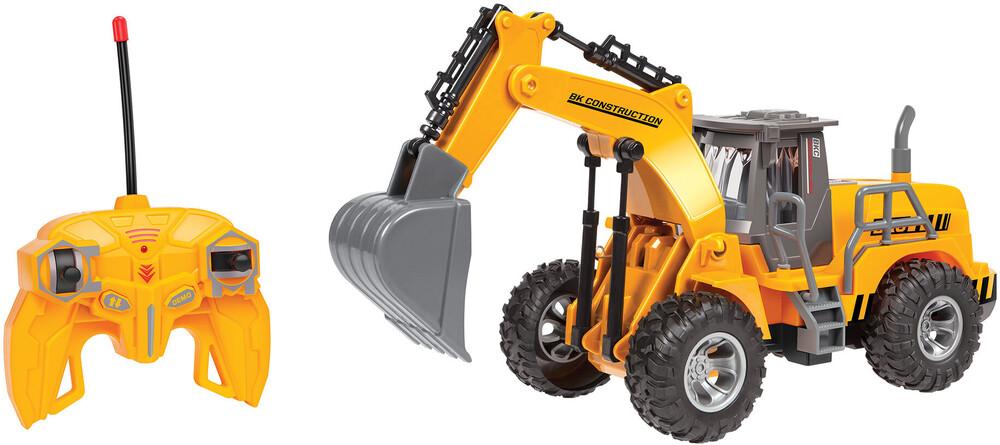 Rc Vehicles - Big Kid's Construction: 1:30 RC Motorized Excavator Wheel Loader