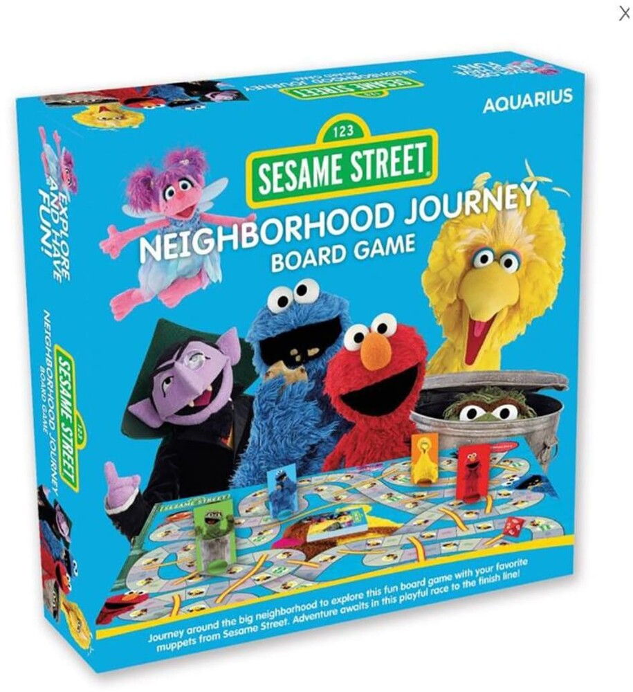 Sesame Street Neighborhood Journey Board Game - Sesame Street Neighborhood Journey Board Game