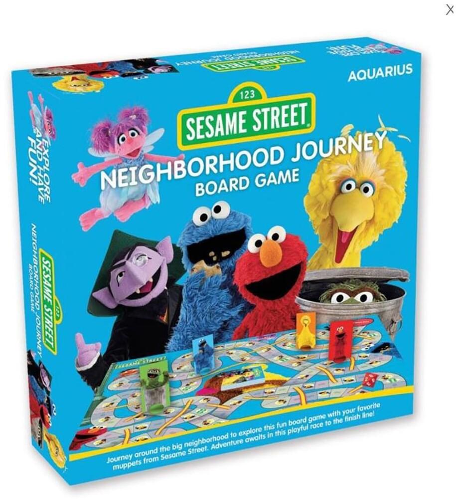 Sesame Street Neighborhood Journey Board Game - Sesame Street Neighborhood Journey Board Game