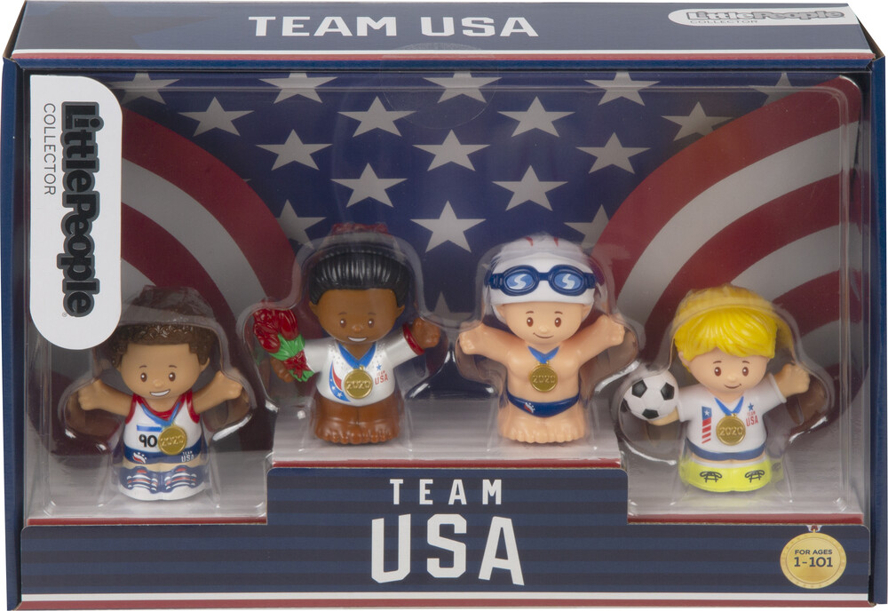 - Fisher Price - Little People: Olympic Figure Pack