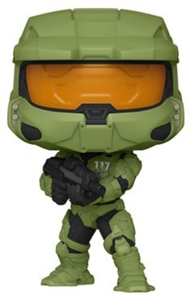 - FUNKO POP! GAMES: Halo Infinite - Master Chief w/ Assault Rifle