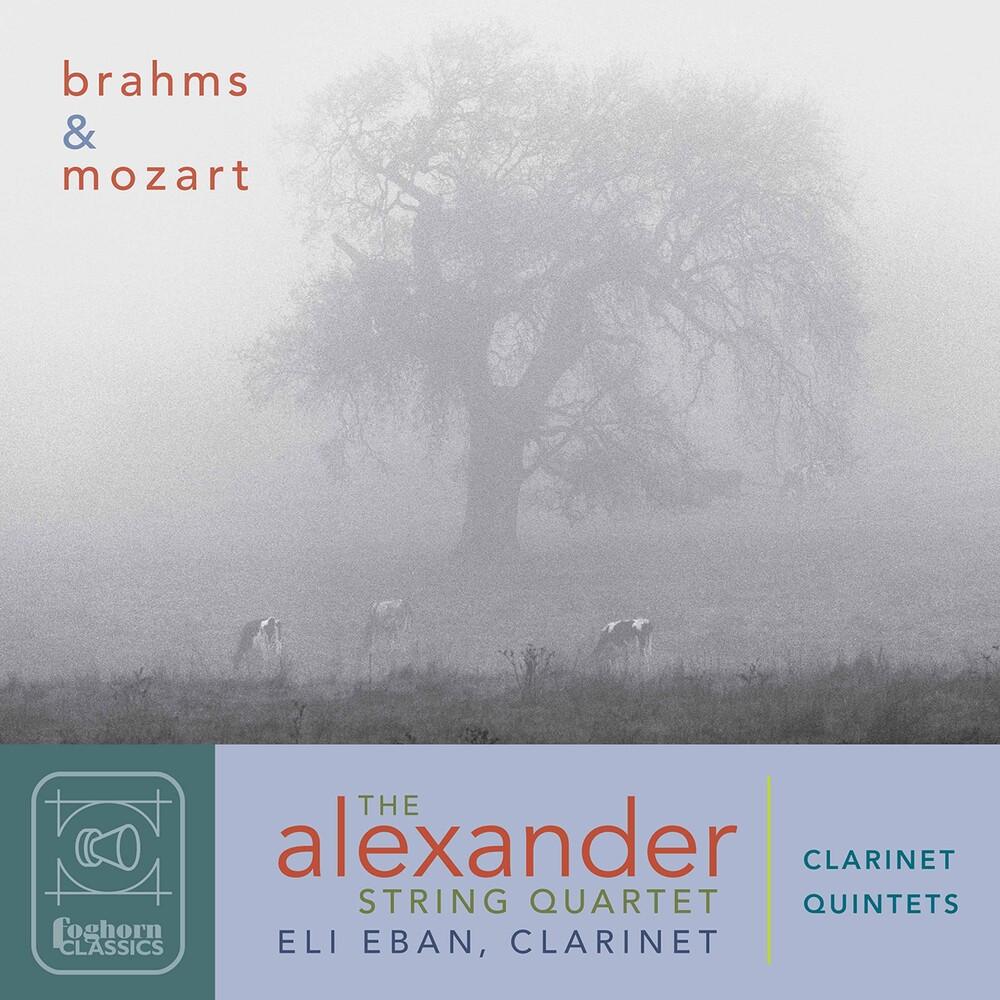 Brahms / Alexander String Quartet / Eban - Clarinet Quintets