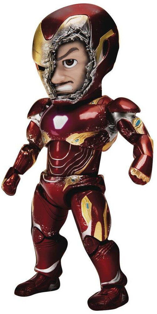 Beast Kingdom - Beast Kingdom - Avengers 3: Infinity War EAA-070SP Iron Man BattleDamaged Mk50 Action Figure