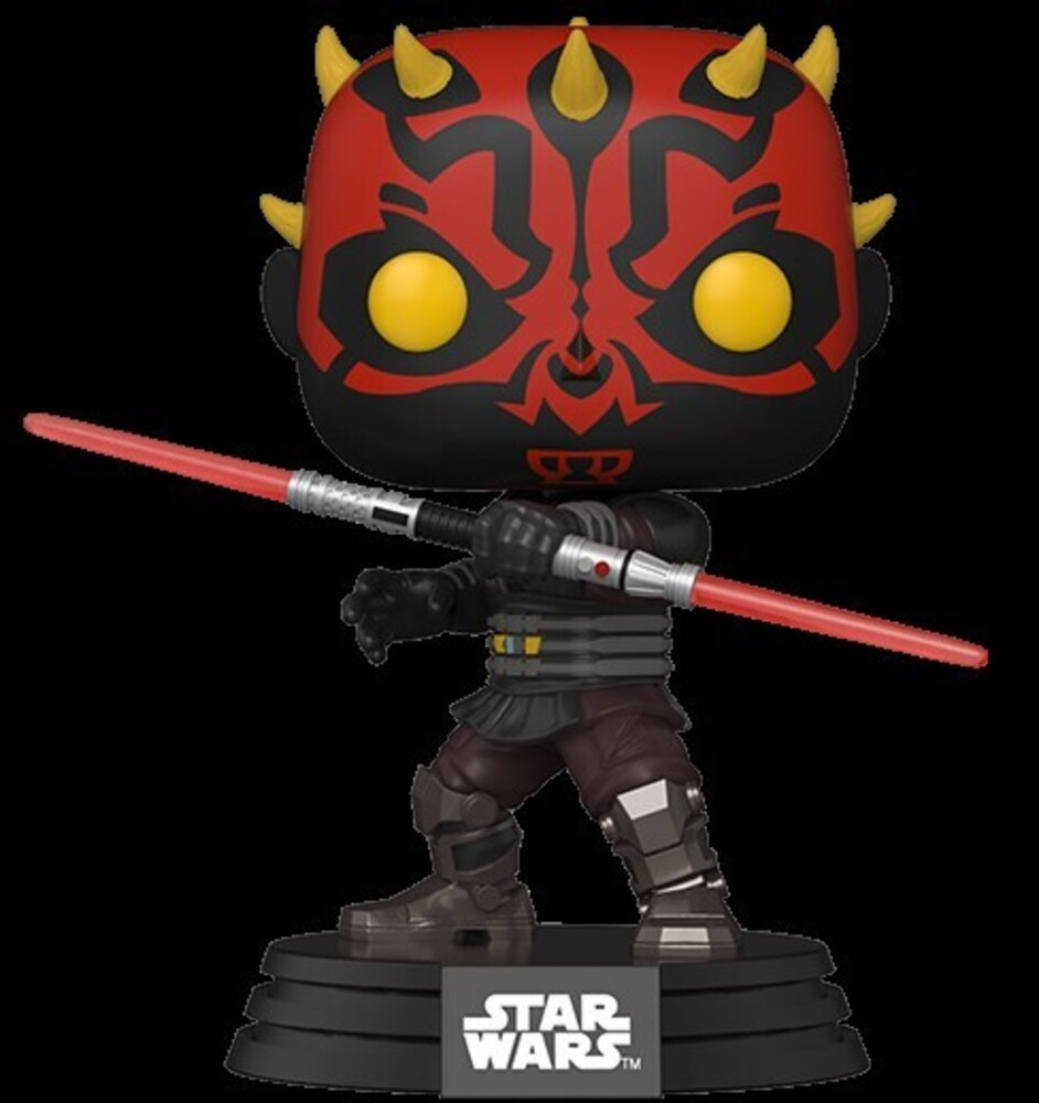 Funko Pop! Star Wars: - FUNKO POP! STAR WARS: Clone Wars- Darth Maul