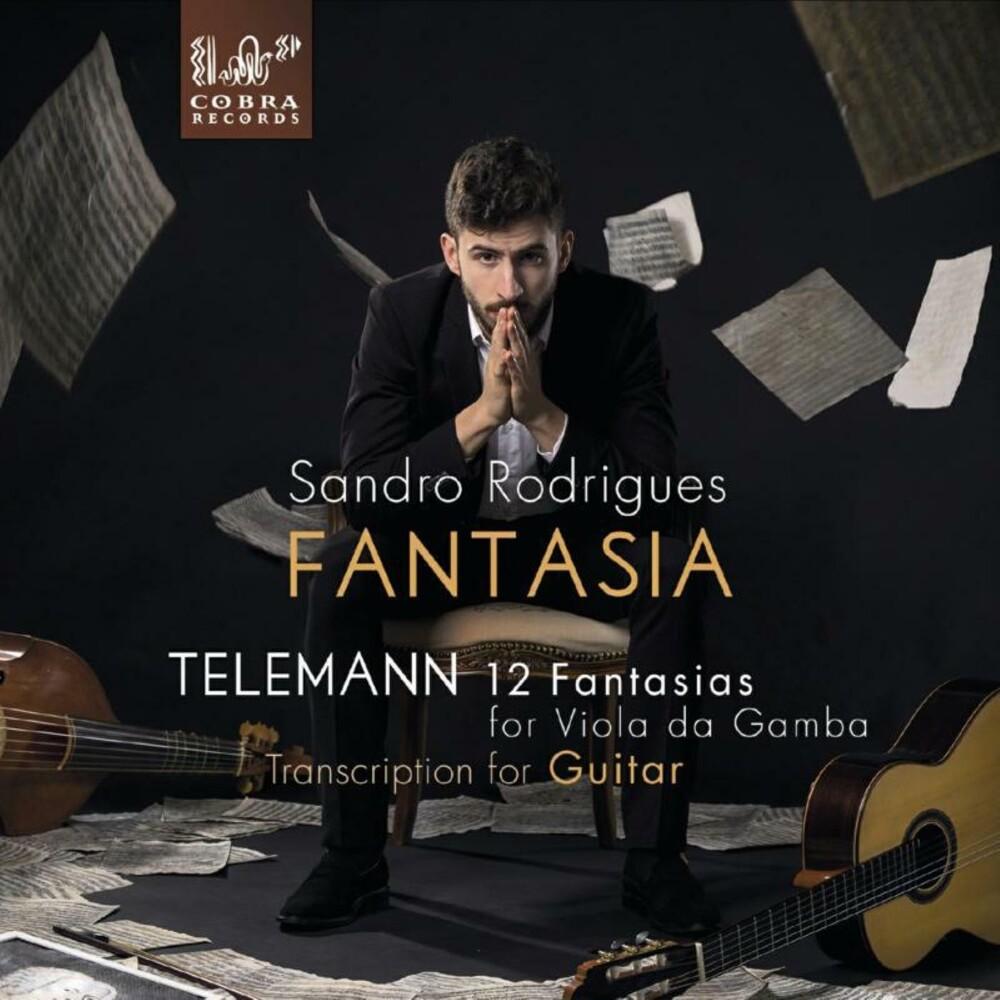 Sandro Rodrigues - Fantasia: Telemann: 12 Fantasias For Viola Da Gamba