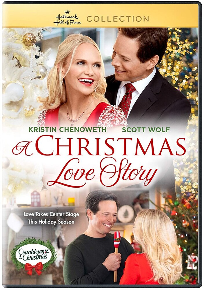 Christmas Love Story, a DVD - A Christmas Love Story