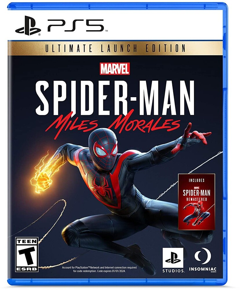 Ps5 Marvel's Spider-Man: Miles Morales - Ultimate - Marvel's Spider-Man: Miles Morales Ultimate Launch Edition - PlayStation 5