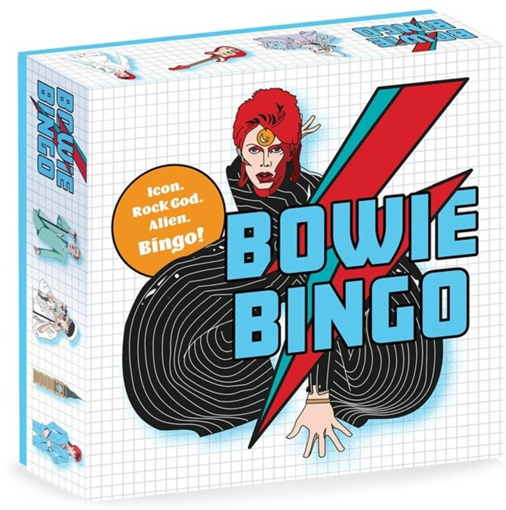 Game - Bowie Bingo: Icon. Rock God. Alien. Bingo!