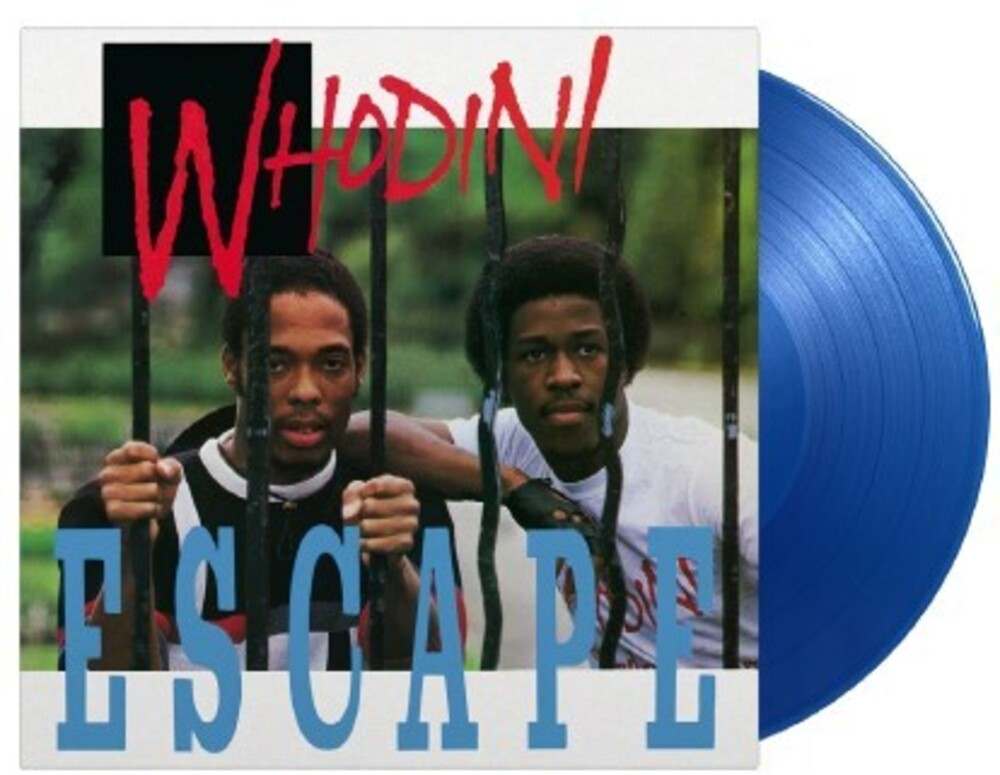 Whodini - Escape [Limited 180-Gram Transparent Blue Colored Vinyl]