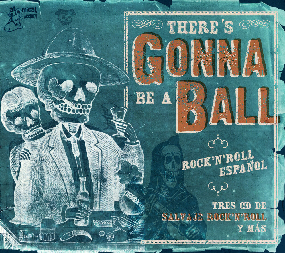res Gonna Be A Ball Rock n Roll / Various - There's Gonna Be A Ball: Rock 'n' Roll Espanol (Various Artists)