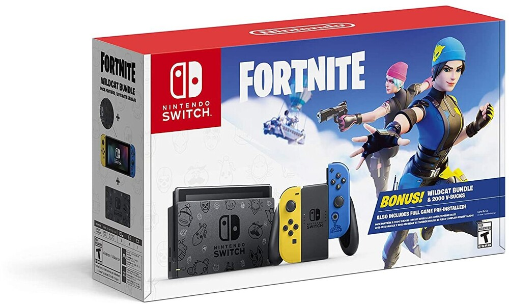 Swi System - Cyber Monday 2020 - Nintendo Switch Fortnite Wildcat Bundle