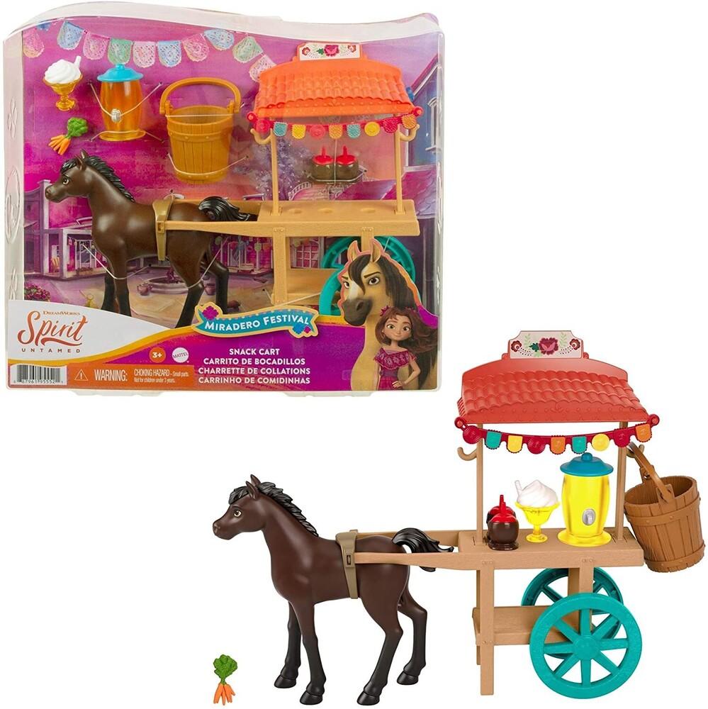 Spirit - Mattel - Spirit Festival Stand Ice Cream Cart