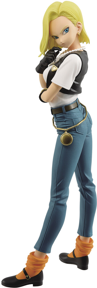 - BanPresto - Dragon Ball Z Android 18 III Glitter & Glamours Figure Version 1