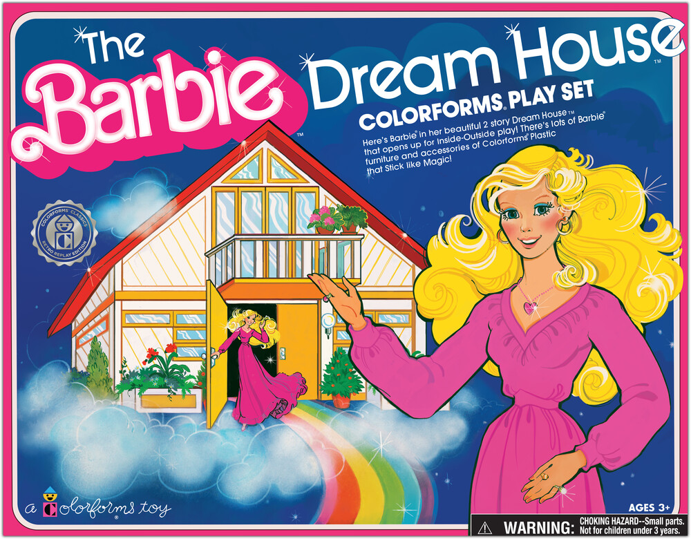 Colorforms Barbie Dream House Play Set - Colorforms Barbie Dream House Play Set