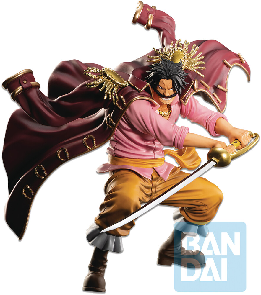 - Ichiban - One Piece - Gol D. Roger (Legends Over Time), Bandai Spirits Ichibansho Figure