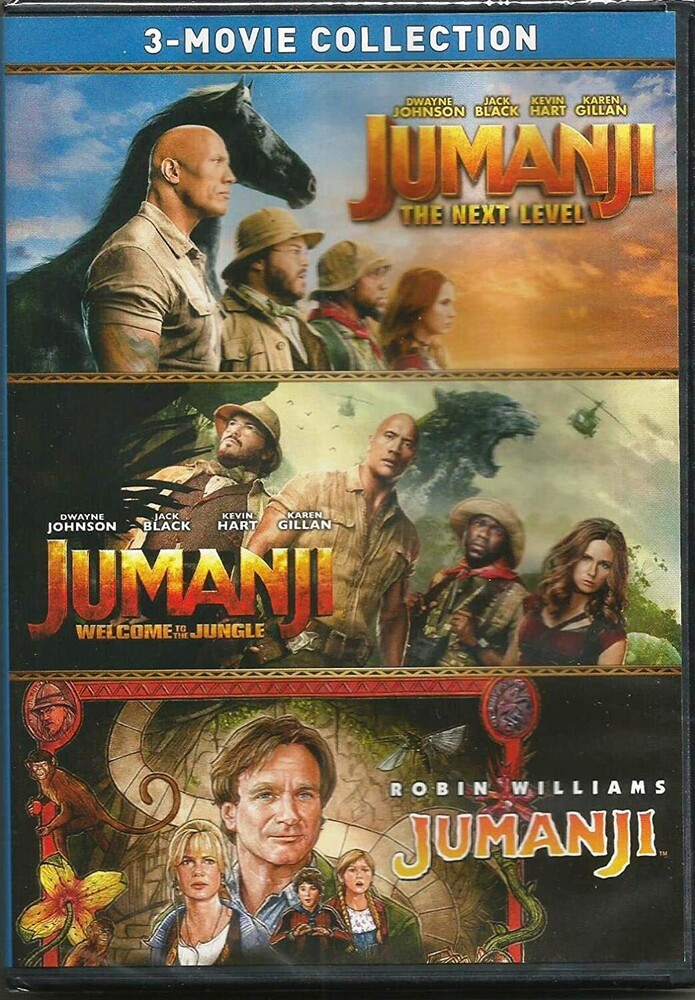 Jumanji (1995) / Jumanji: Welcome to the Jungle - Jumanji: 3-Movie Collection: Jumanji / Jumanji: Welcome to the Jungle /Jumanji: The Next Level