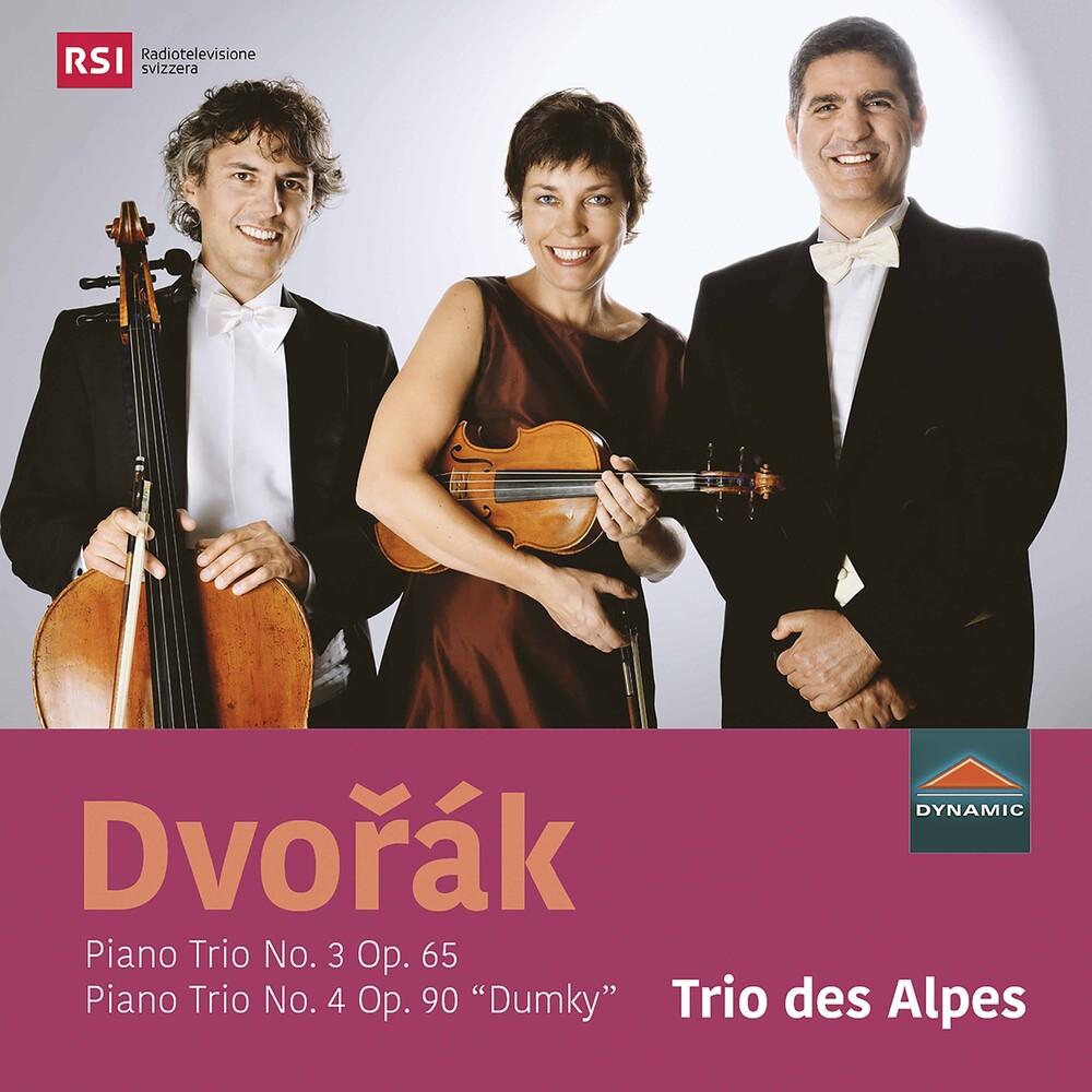 Dvorak / Trio Des Alpes - Piano Trio 3 / 65
