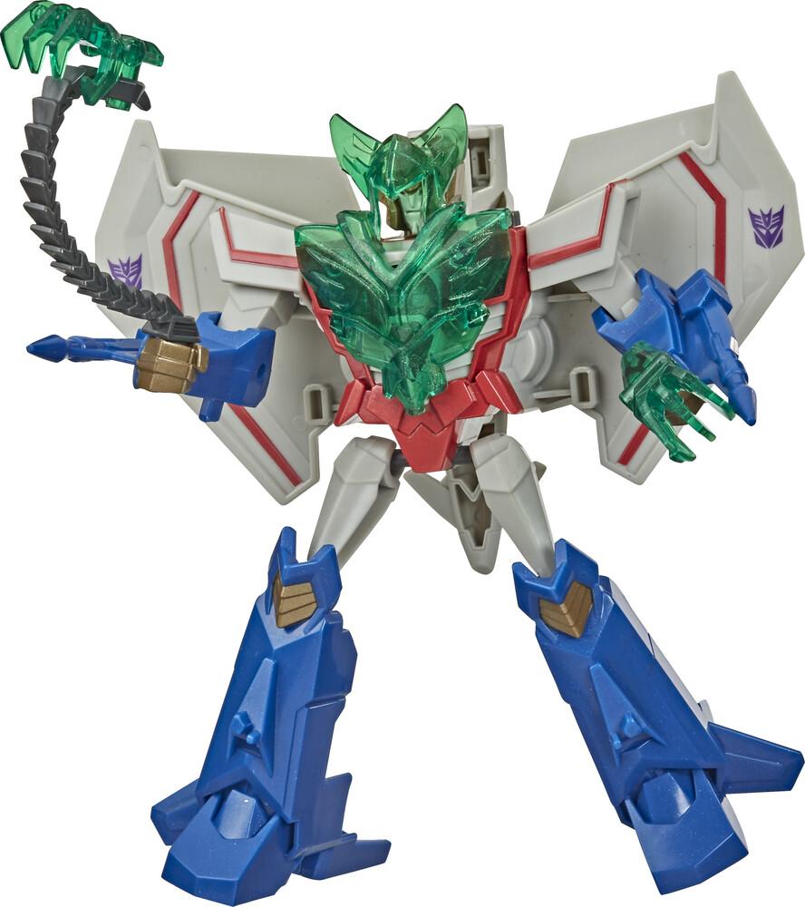 Tra Cyb Battle Call Trooper Starscream - Hasbro Collectibles - Transformers Cyberverse Adventures Battle CallTrooper Starscream
