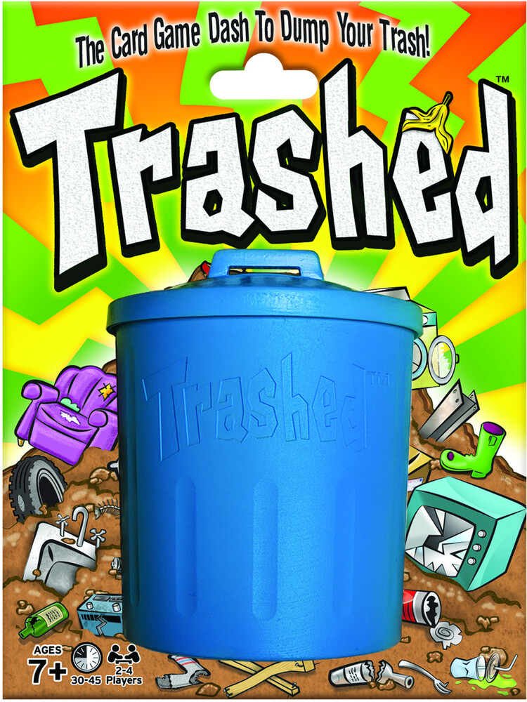Trashed Card Game Dash to Dump Your Trash - Trashed Card Game Dash To Dump Your Trash