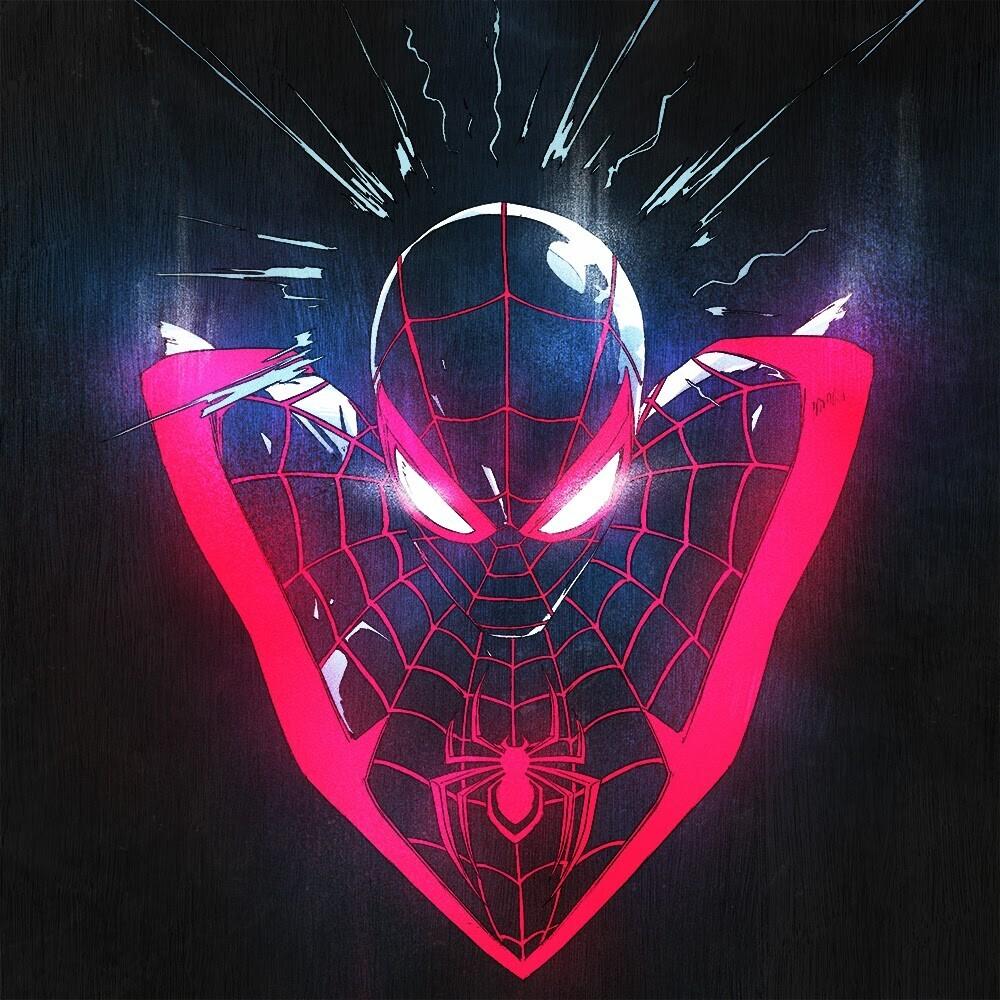 John Paesano  (Blk) - Marvel's Spider-Man: Miles Morales (Blk)