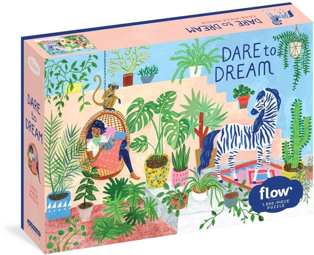 Hulst, Astrid Van Der / Smit, Irene - Dare To Dream 1000 Piece Puzzle Flow For Adults