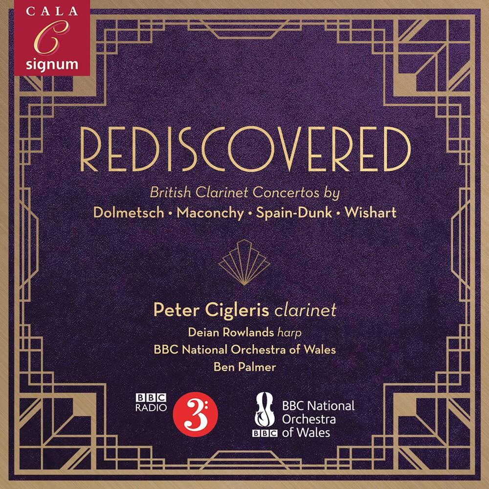 Peter Cigleris - Rediscovered