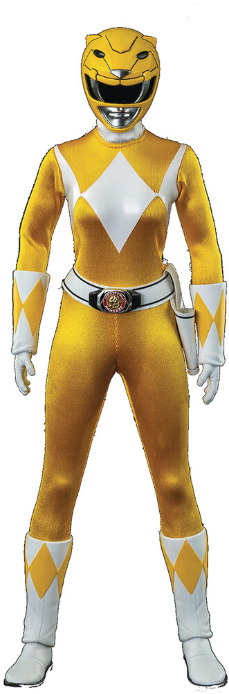 THREEZERO - THREEZERO - Mighty Morphin Power Rangers Yellow Ranger 1/6 ScaleAction Figure (Net)