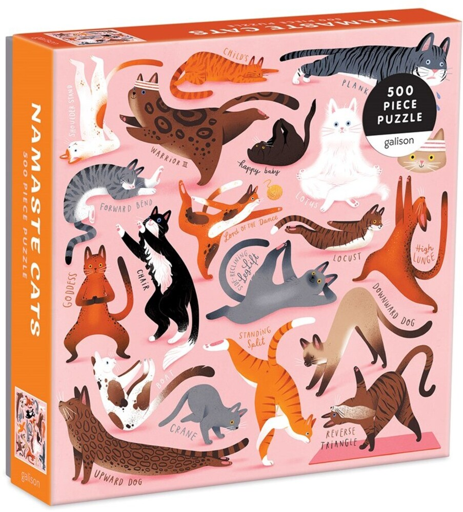 - Namaste Cats 500 Piece Puzzle