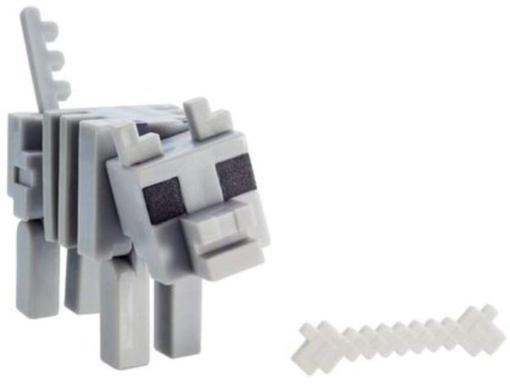 Minecraft - Mattel Collectible - Minecraft 3.25 Skeleton Wolf
