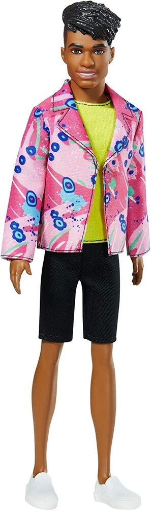 - Mattel - Barbie Ken with Neon Top, 60th Anniversary Doll