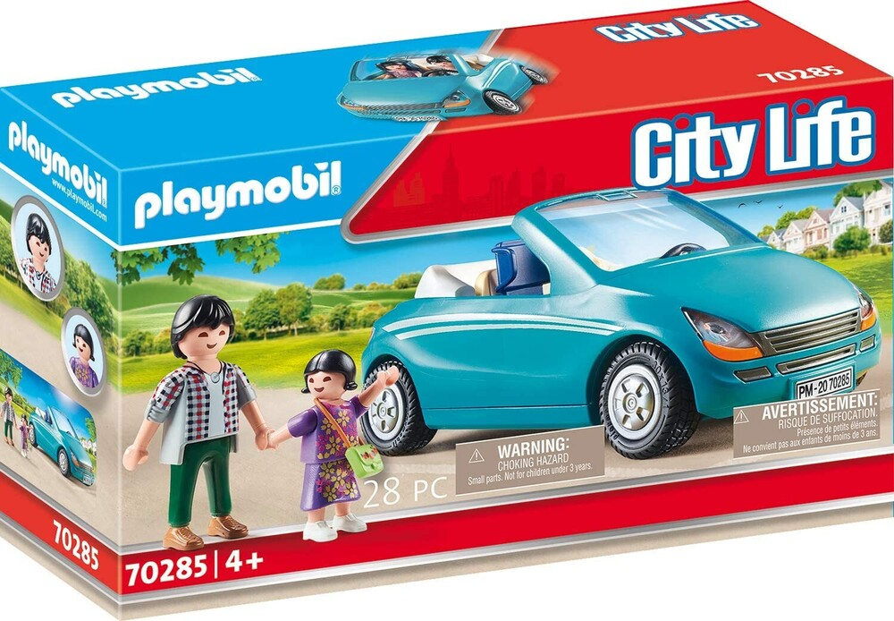 - City Life Family With Car (Fig)