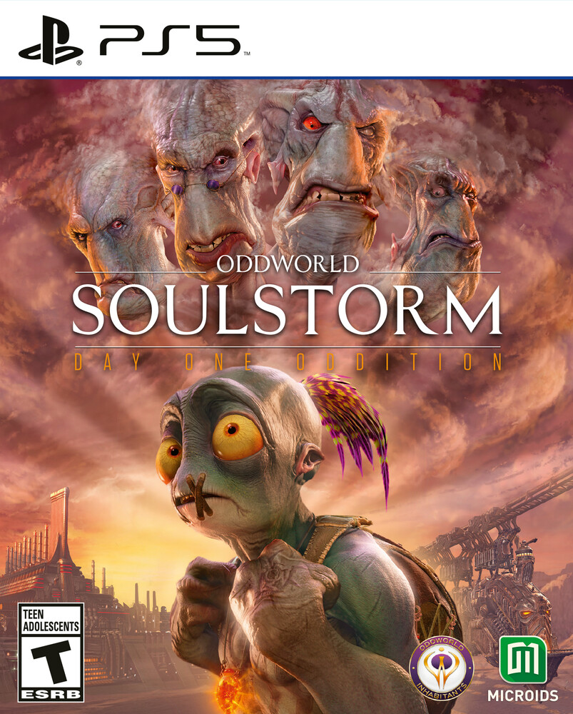 - Ps5 Oddworld: Soulstorm Day 1 Oddition